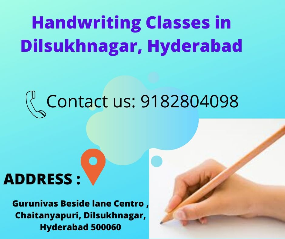 handwriting classes in dilsukhnagar